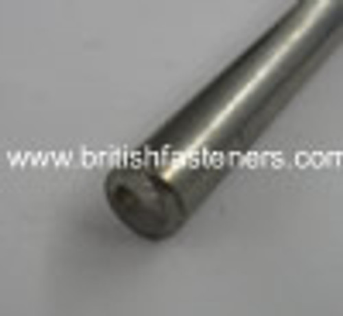 "1/4"" STAINLESS ROUND BAR x 10"" LONG - (5118)"