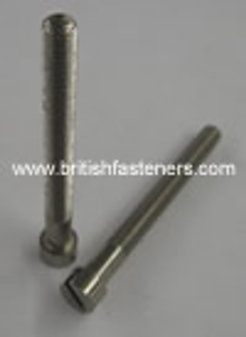 "BSF 1/4"" - 26 x 2-1/2"" Stainless Cheesehead Screw - (6697)"