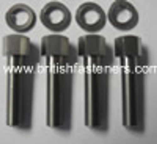 BSA STAINLESS STEEL HANDLE BAR BOLT SET - (BSA4)