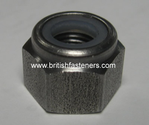 """BSC 3/8"""" - 26 NYLOCK NUT  (4099A)"""