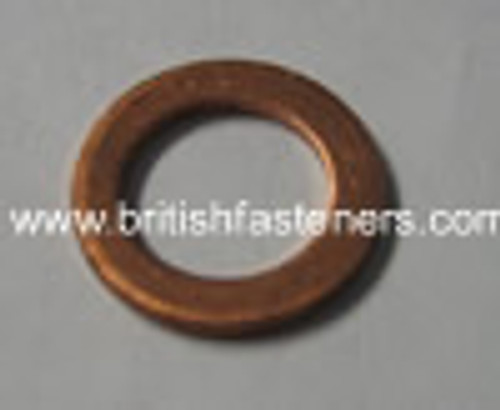 "1/4"" BSP (M13) COPPER SEALING WASHER - (6354)"