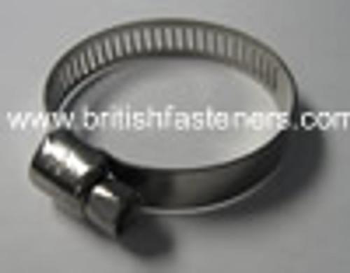 """Hose Clip - Narrow - 2-7/16"""" - 3-3/16"""" (72-89mm) - (7353)"""
