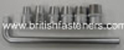 "KING DICK 7 PC - 1/2"" DRIVE WHITWORTH SOCKET SET - (7904A)"
