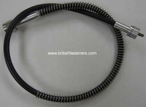"BARNETT Tachometer cable 28"" BSA Triumph 500 650 Twins Spade Drive - (C3148)"