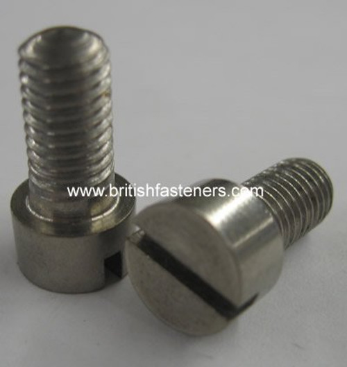 "BSF 1/4"" - 26 x 3/4"" Stainless Stl. Cheesehead Screw - (6693A)"