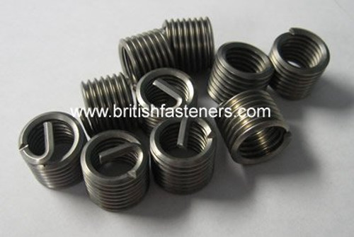 """BSF 1/4"""" - 26 INSERTS (PACKS OF 10 - 5 LENGTHS) - (30040-I)"""