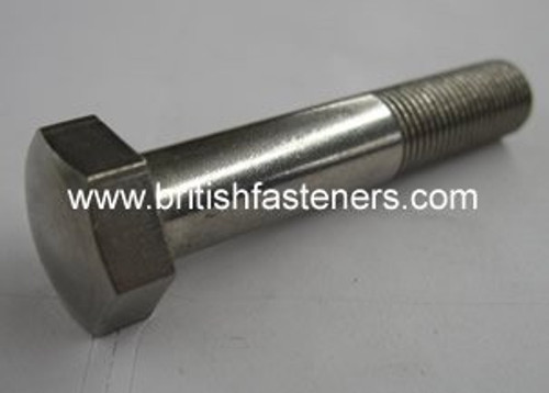 "BSF Stainless BOLT DOMED 3/8"" -20 x 4"" - (6527)"