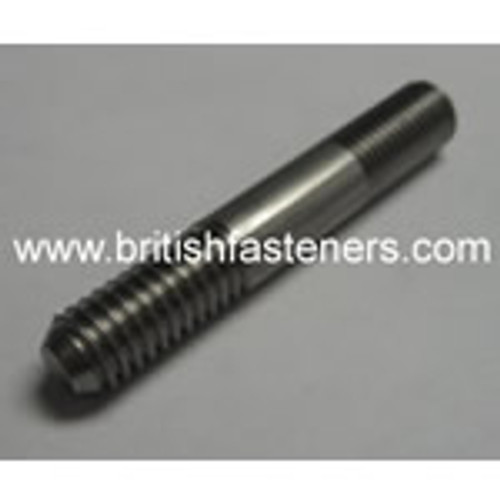 "UNF 5/16"" x 8.5"" LONG STUD - 24 TPI"