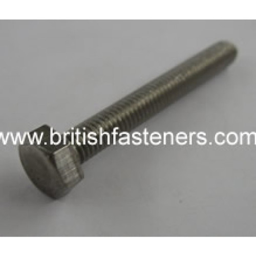 "2BA HEX SCREW X 2"" STAINLESS"