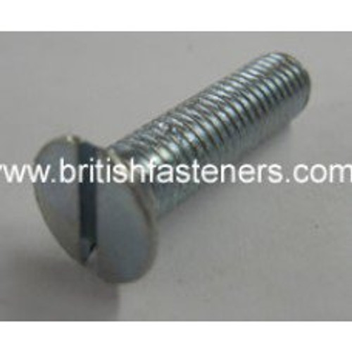 "UNF 1/4"" - 28 x 1-1/2"" SLOTTED C/SUNK SCREW"