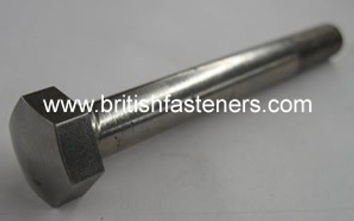 """Stainless Bolt BSF/BSC Domed Hex 1/4"""" - 26 x 1-3/4"""""""