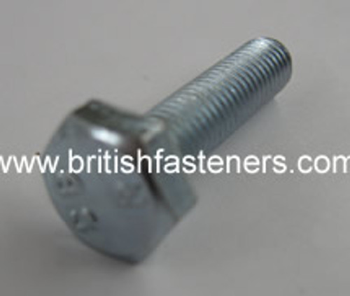 "BSC/BSF HEX SET SCREW 1/4 x 1"" - (1020)"