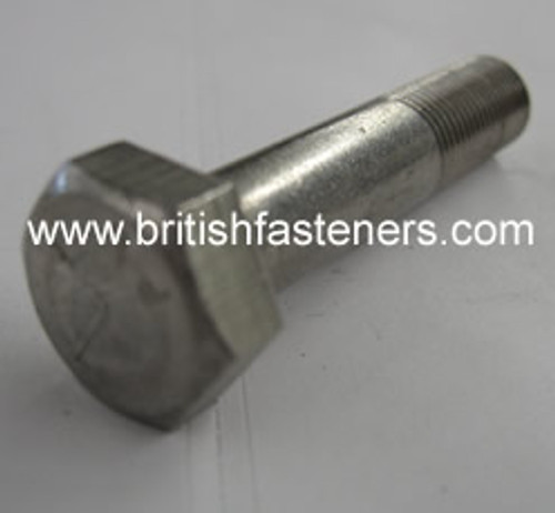"Stainless Bolt BSF Hex 3/8 x 3"" - (6415)"