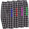 Lacrosse Black/White Flannel Pants