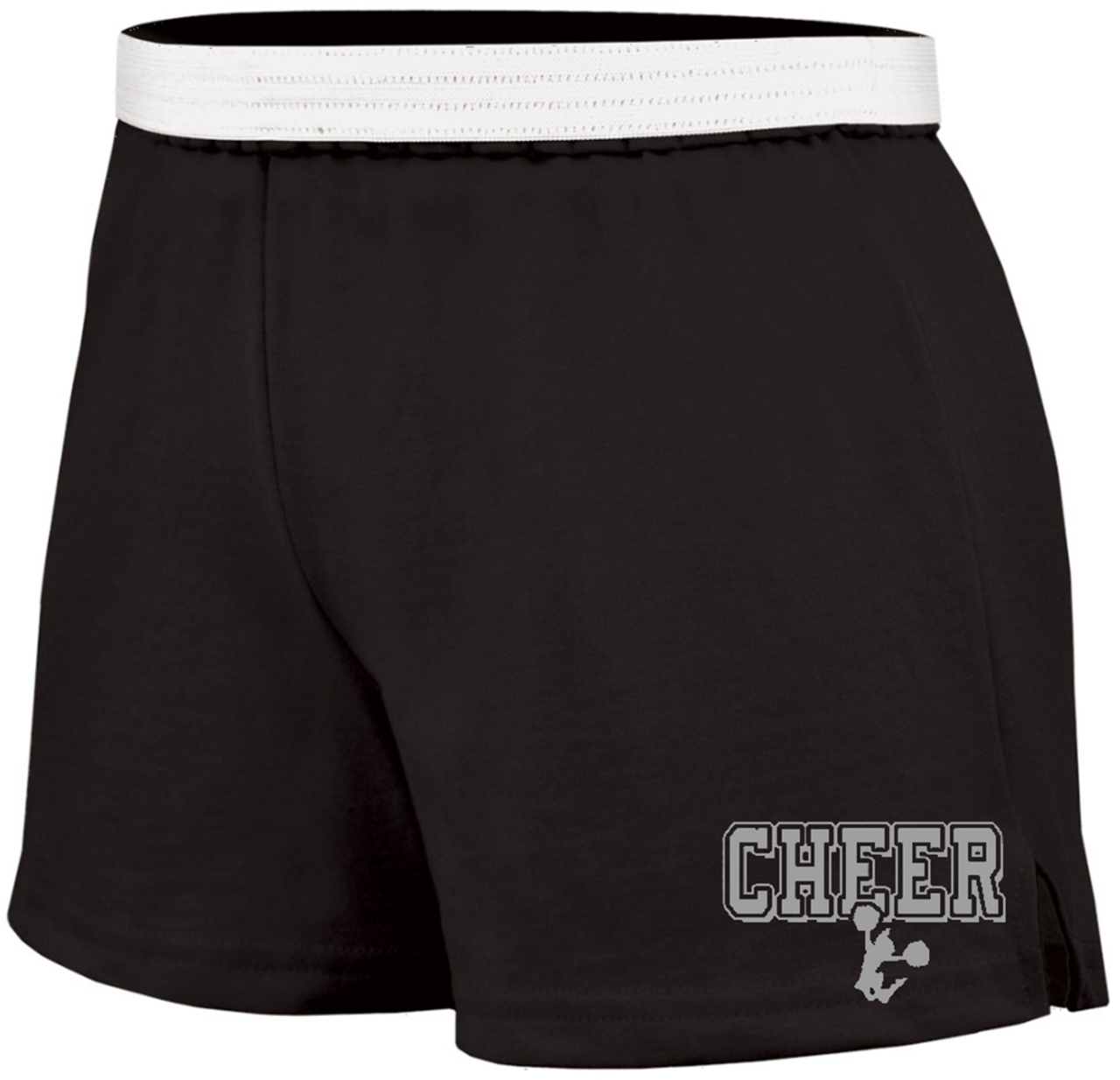 5d27091058e66 Cheer Soffe Short with Silver Logo - JANT girl