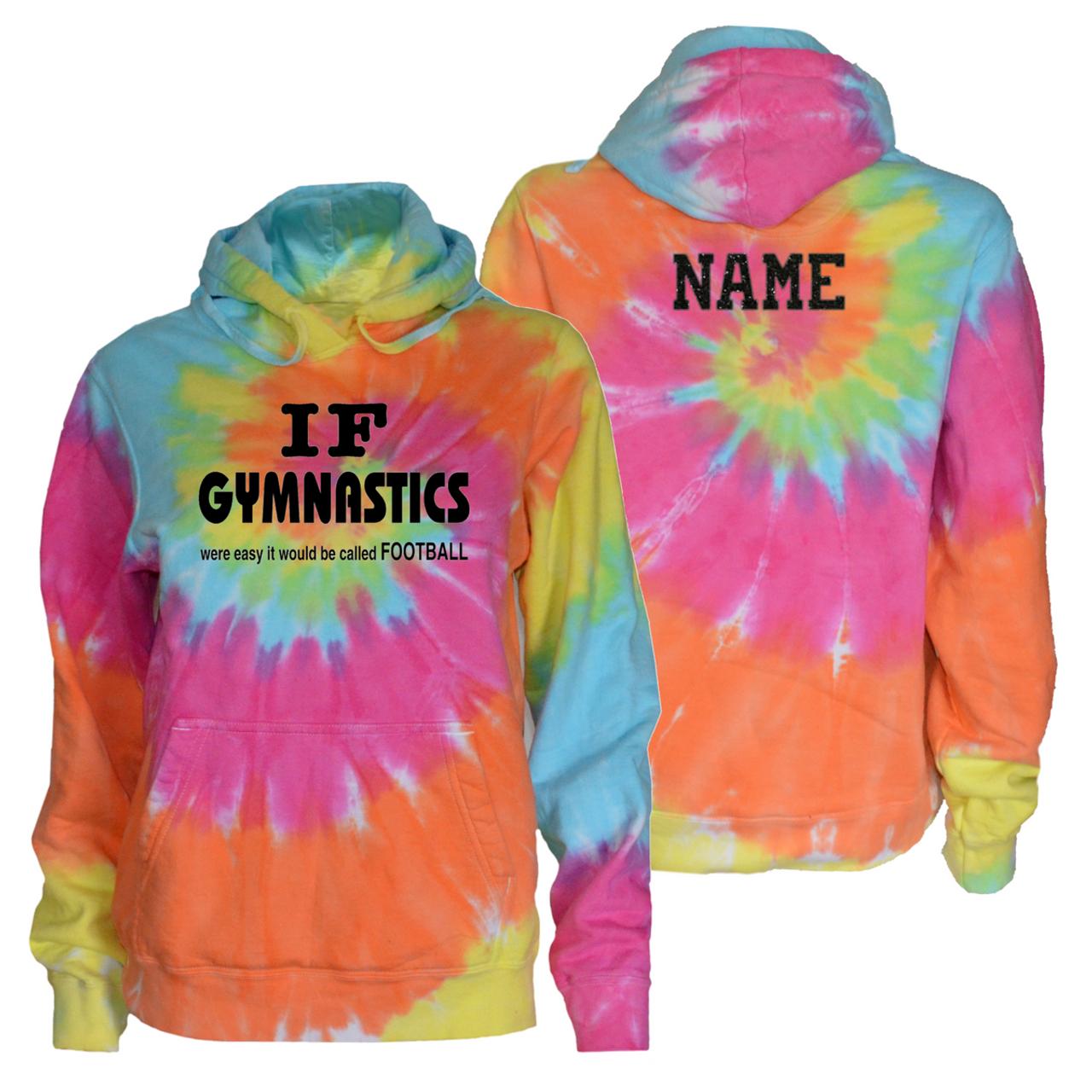 Gymnastics Pastel Tie Dye Sweatshirt