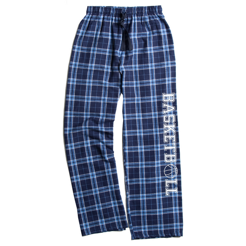 Basketball Columbia Blue Flannel Pants