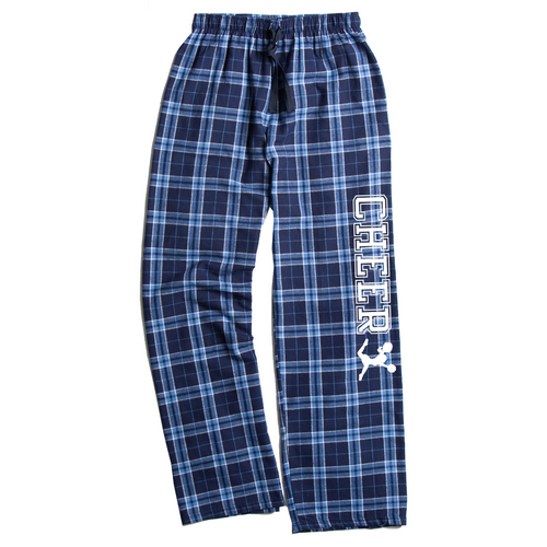 Cheerleading Columbia Blue Flannel Pants