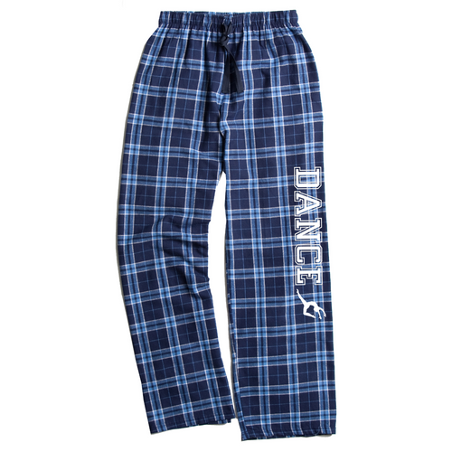 Dance Columbia Blue Flannel Pants