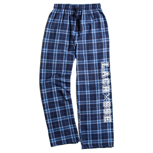Lacrosse Columbia Blue Flannel Pants