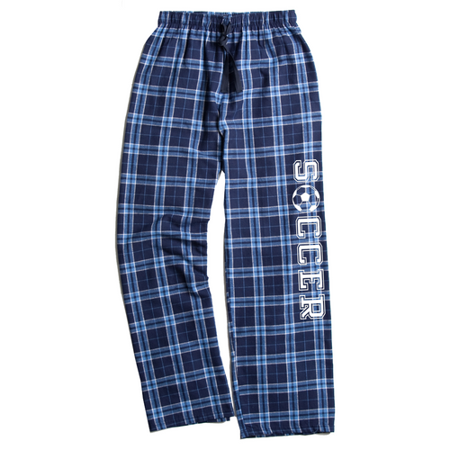 Soccer Columbia Blue Flannel Pants