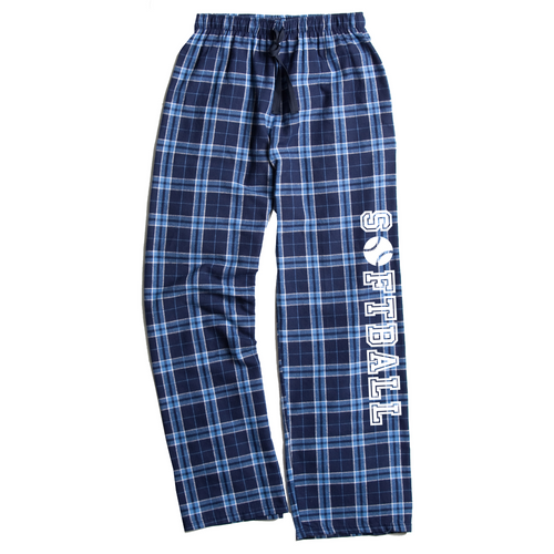 Softball Columbia Blue Flannel Pants