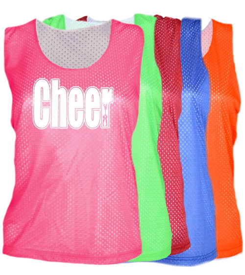 "Cheerleading Pinnie ""Cheer"" Logo"
