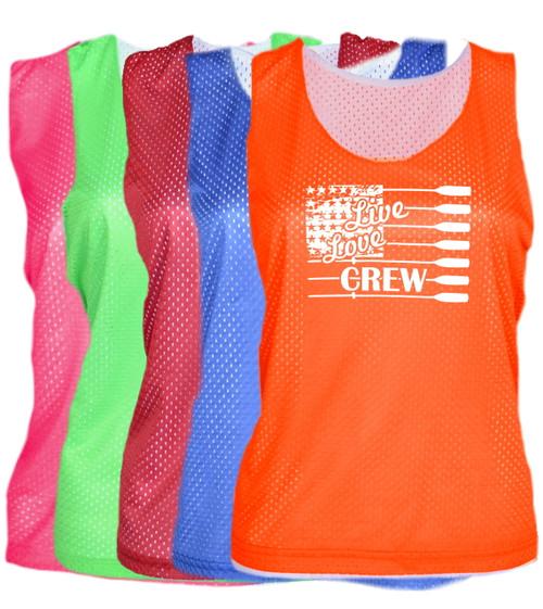 "Crew Pinnie ""Live Love"" Logo"