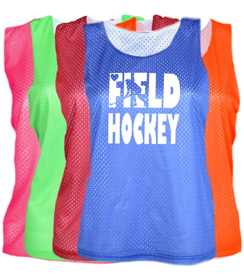 "Field Hockey Pinnie ""Stacked"" Logo"