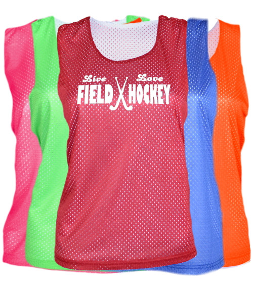"Field Hockey Pinnie ""Live Love"" Logo"