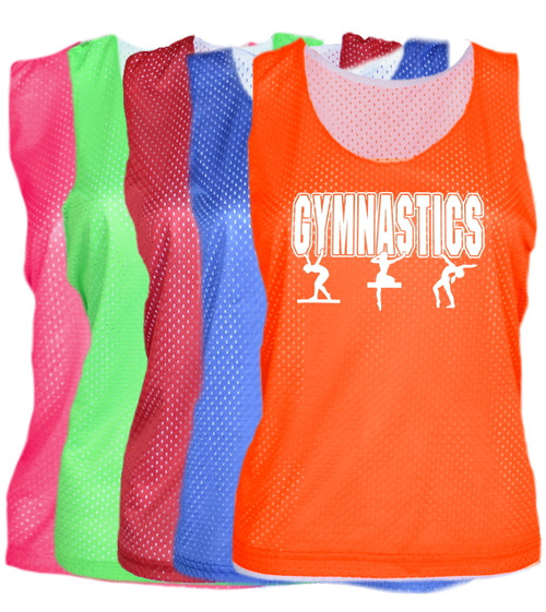 "Gymnastics Pinnie ""3 Girls"" Logo"