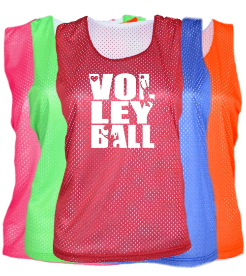 "Volleyball Pinnie ""Stacked"" Logo"