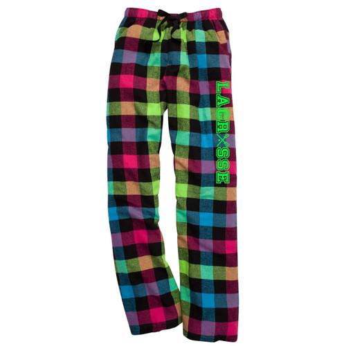 Lacrosse Neon Flannel Pants