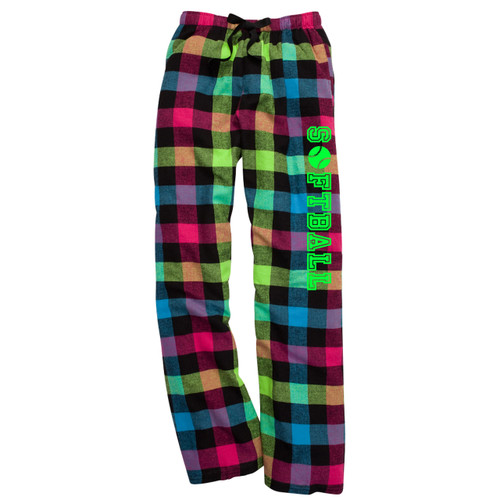 Softball Neon Flannel Pants