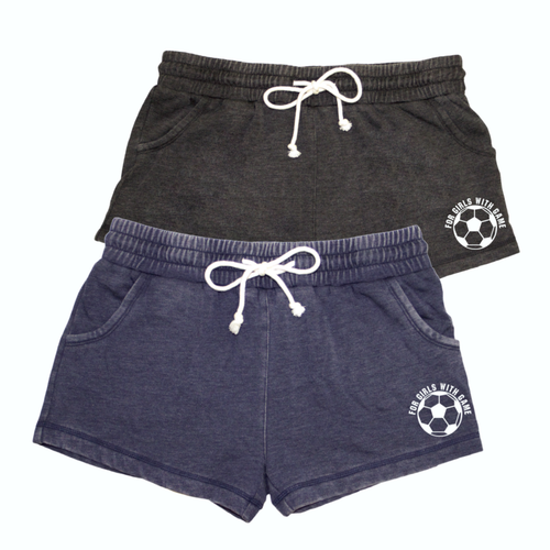 Soccer Distressed Short