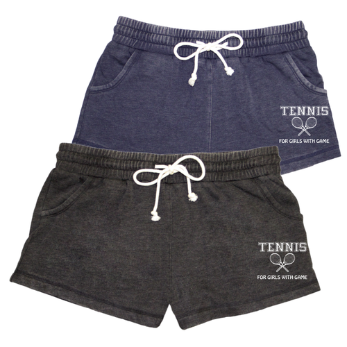 Tennis Distressed Short