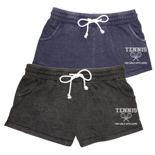 Tennis Distressed Short