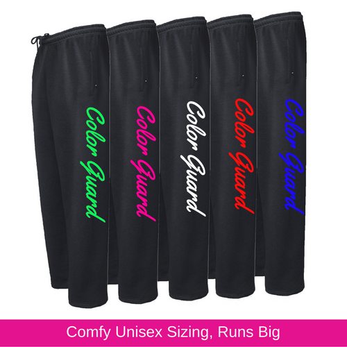 Color Guard Black Sweatpants