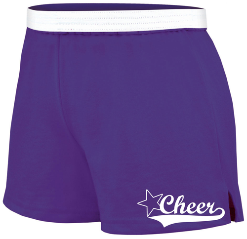 Cheer Soffe Short with Cursive Logo