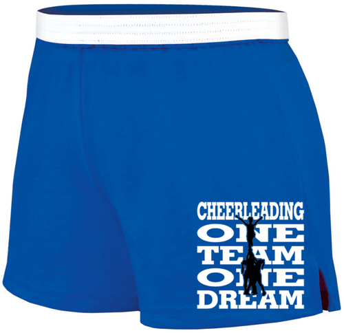 "Cheer Soffe Short ""One Team"" Logo"