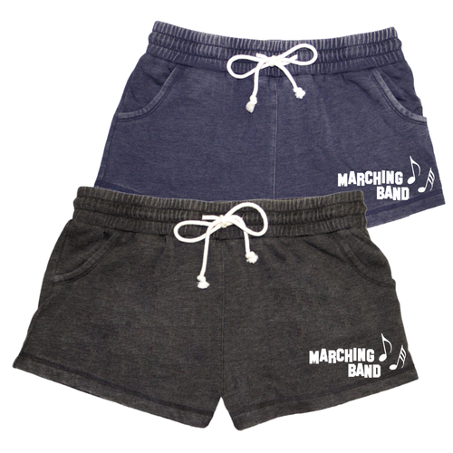 Marching Band Distressed Short