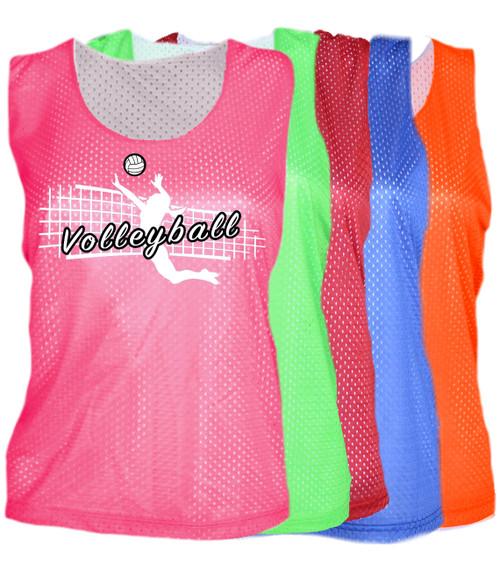"Volleyball Pinnie ""Jump Spike"" Logo"