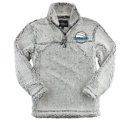 Volleyball 1/4 Zip Sherpa Pullover