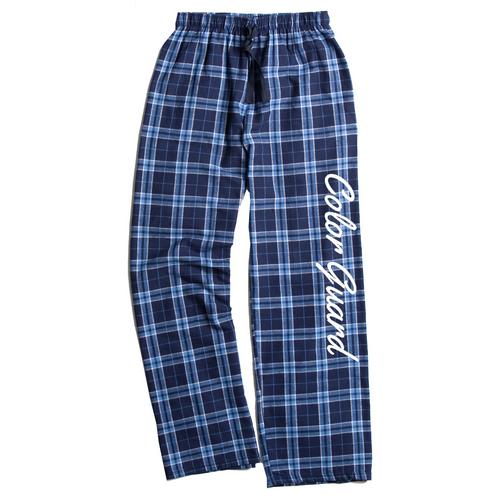 Color Guard Columbia Blue Flannel Pants