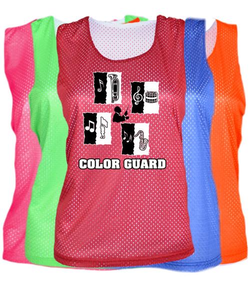 "Color Guard Pinnie ""Conductor"" Logo"
