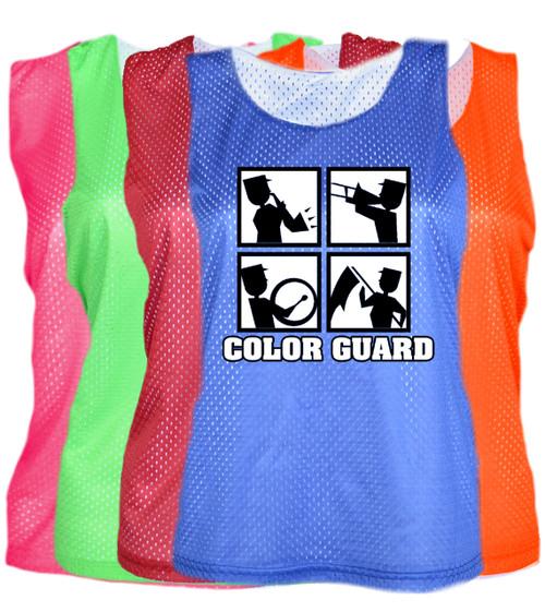 "Color Guard Pinnie ""Square"" Logo"
