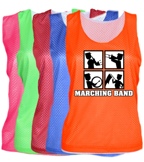 """Marching Band Pinnie """"Square"""" Logo"""
