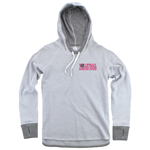 Volleyball Thumb Hole Hoodie