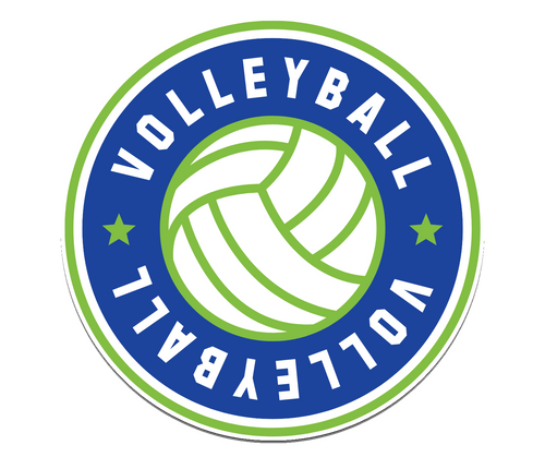 Volleyball All Star Sticker