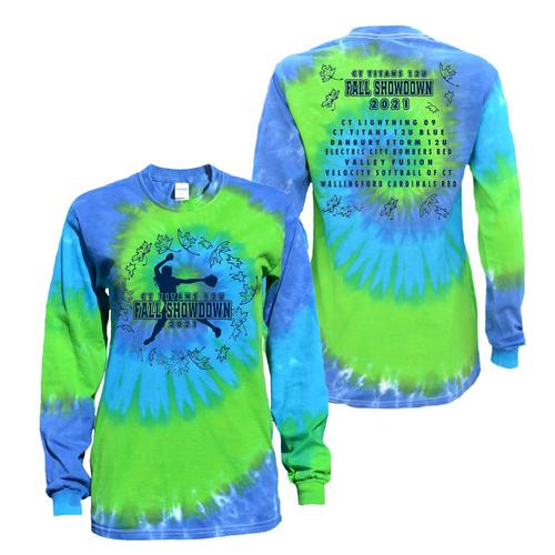 CT 12U Titans Fall Showdown Tournament T-Shirt